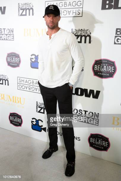 Actor Prince Pope attends George Jung's Birthday Celebration And Screening Of Blow at TCL Chinese 6 Theatres on August 6 2018 in Hollywood California