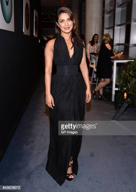 Actor Priyanka Chopra attends the TIFF Soiree during the 2017 Toronto International Film Festival at TIFF Bell Lightbox on September 6 2017 in...