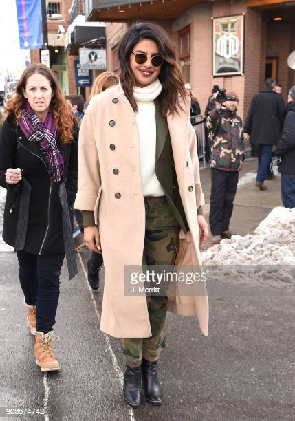 Actor Priyanka Chopra is seen at the 2018 Sundance Film Festival on January 21 2018 in Park City Utah