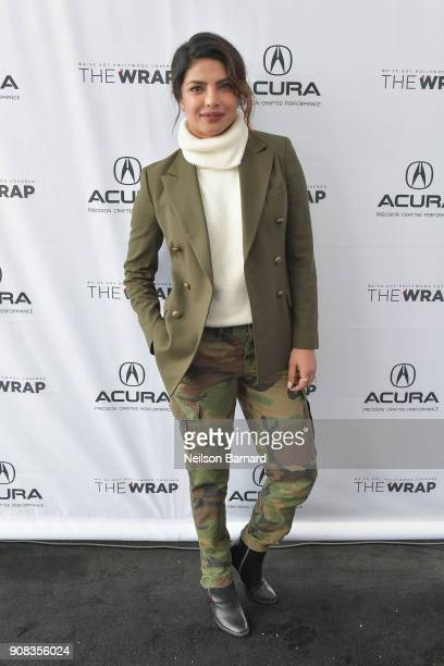 Actor Priyanka Chopra of 'A Kid Like Jake' attends the Acura Studio at Sundance Film Festival 2018 on January 21 2018 in Park City Utah