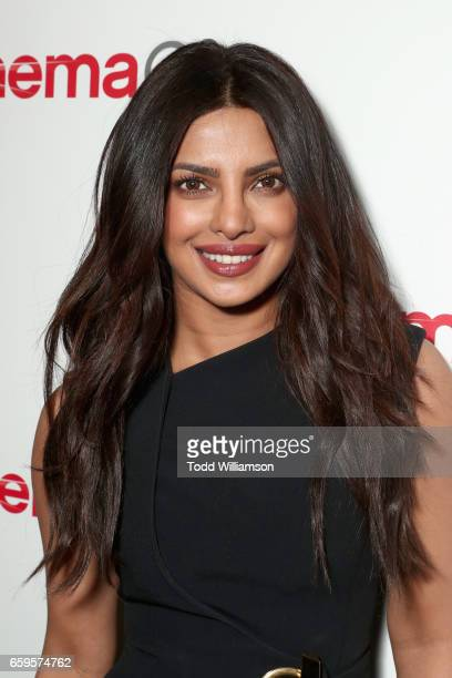 Actor Priyanka Chopraat CinemaCon 2017 Paramount Pictures Presentation Highlighting Its Summer of 2017 and Beyond at The Colosseum at Caesars Palace...