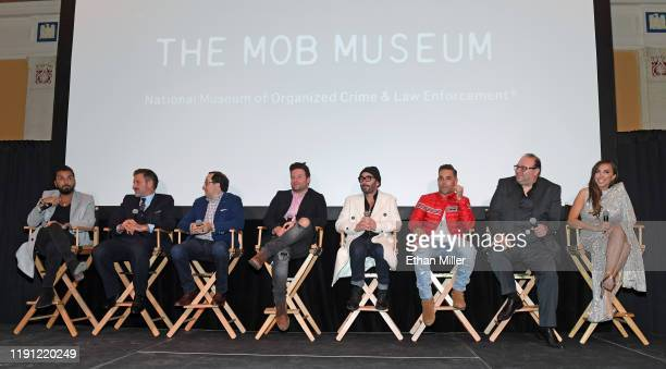 Actor, producer and director Danny A. Abeckaser, actor/producer David Arquette, actor P.J. Byrne, writer/actor Jon Carlo, actors Stevie Guttman, Kyle...
