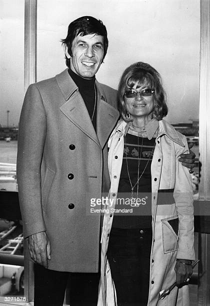 Actor, producer and director Leonard Nimoy and his wife Sandy.