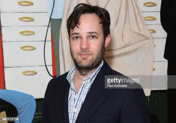 Actor / Producer Danny Strong attends MOCA's the opening of Kerry James Marshall Mastry at MOCA Grand Avenue on March 11 2017 in Los Angeles...