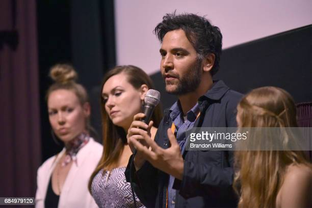 Actor / producer / director Josh Radnor answers questions during a special screening and QA of The Seeker by Cloud Cult at Laemmle's Music Hall 3 on...