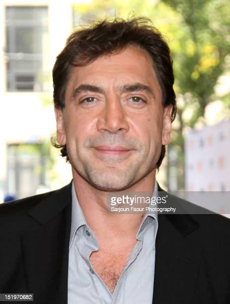Actor/ Producer Javier Bardem attends the Sons Of The Clouds The Last Colony premiere during the 2012 Toronto International Film Festival at the...