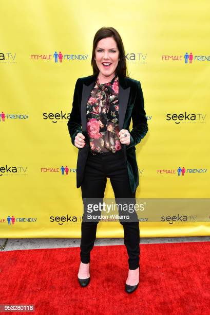 Actor / producer / writer Kira Reed Lorsch attends the premiere party for 'Female Friendly' at The Three Clubs on April 30 2018 in Hollywood...