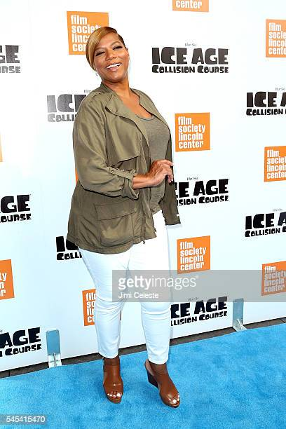 Actor Queen Latifah attend ICE AGE COLLISION COURSE Special Screening with The Film Society of Lincoln Center at Walter Reade Theater on July 7 2016...