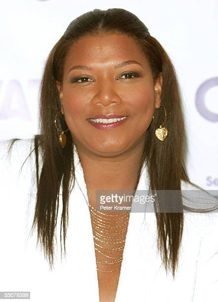 Actor Queen Latifah attends a press conference to announce her long term partnership with VF intimates and there curvation line for curvaceous women...