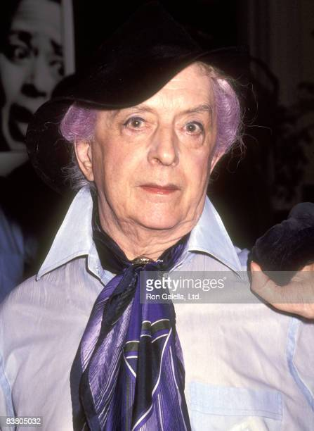 "Actor Quentin Crisp attends ""The Water Engine"" New York City Premiere on August 10, 1992 at the Joseph Papp Public Theatre in New York City, New York."