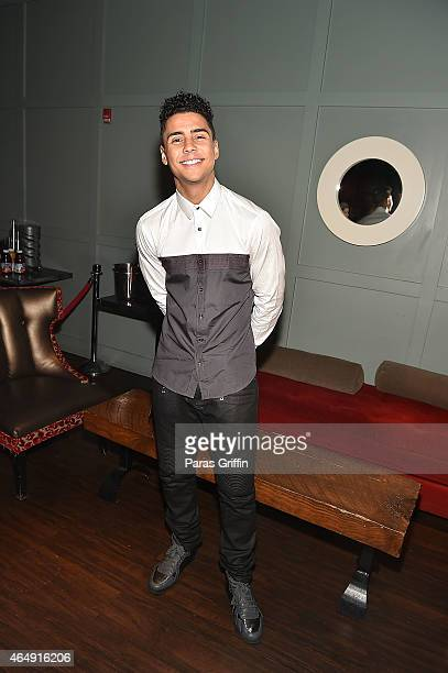 Actor Quincy Brown attends the advance screening of Brotherly Love at Studio Movie Grill on March 1 2015 in Charlotte North Carolina