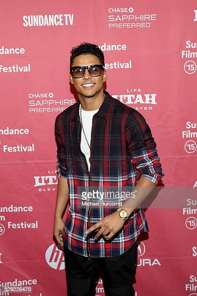 """Actor Quincy Brown attends the """"Dope"""" premiere at the 2015 Sundance Film Festival"""