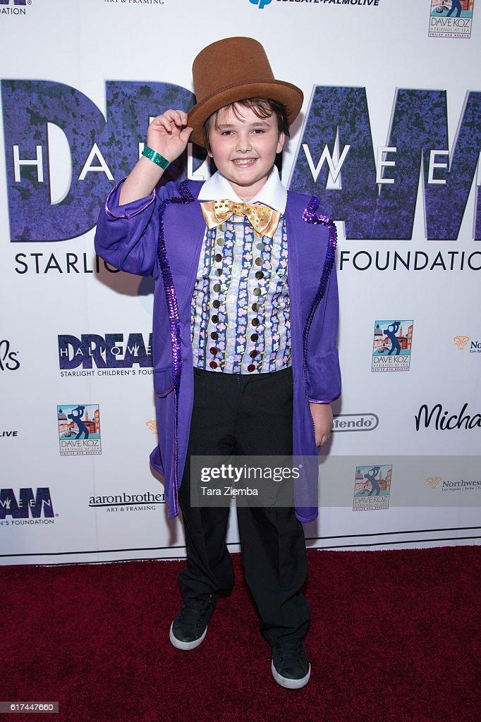 Actor Quinn Friedman attends Starlight's Dream Halloween 2016 on October 22, 2016 in Los Angeles, California.