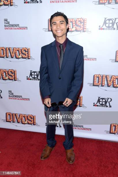 Actor Quinn Lozar attends a Los Angeles VIP industry screening with the filmmakers and cast of DIVOS at TCL Chinese 6 Theatres on May 01 2019 in...