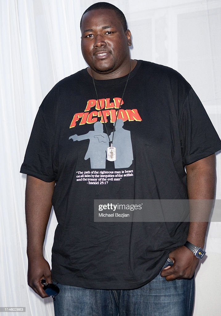 Actor Quinton Aaron at Diana Lopez Birthday Celebration on May 22, 2010 in Los Angeles, California.