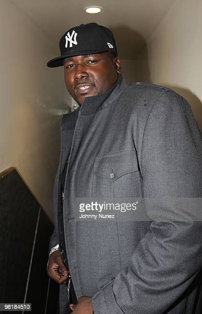 Actor Quinton Aaron attends XXL Magazine's Freshman Class at the Highline Ballroom on April 1, 2010 in New York City.