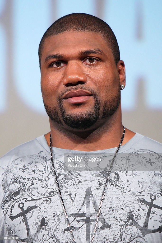 Actor Quinton Rampage Jackson Attends A Stage Greeting For The News Photo Getty Images