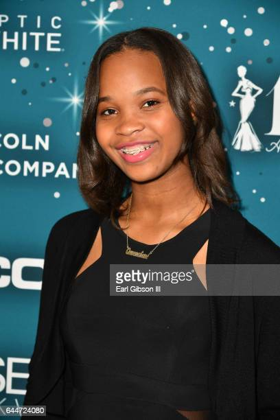 Actor Quvenzhane Wallis at Essence Black Women in Hollywood Awards at the Beverly Wilshire Four Seasons Hotel on February 23, 2017 in Beverly Hills,...