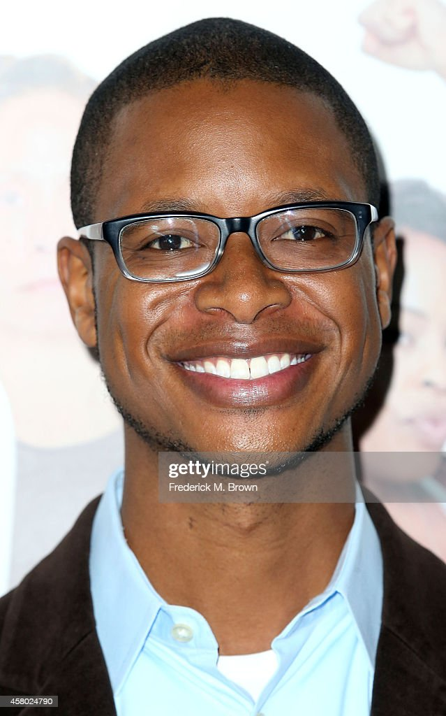 Actor R. J. Smith attends the Premiere of HBO's 'Getting On' Season 2 at the Avalon on October 28, 2014 in Hollywood, California.