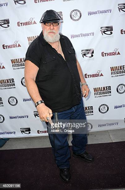 Actor RA Mihailoff arrives for the 2014 Etheria Film Night held at American Cinematheque's Egyptian Theatre on July 12 2014 in Hollywood California