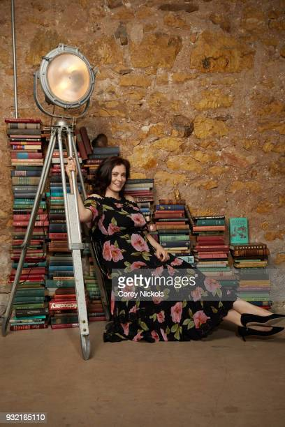 Actor Rachel Bloom from the film Most Likely To Murder poses for a portrait in the Getty Images Portrait Studio Powered by Pizza Hut at the 2018 SXSW...