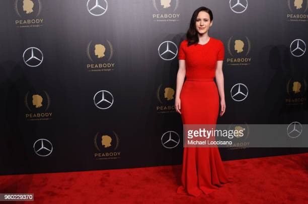 Actor Rachel Brosnahan attends The 77th Annual Peabody Awards Ceremony at Cipriani Wall Street on May 19, 2018 in New York City.