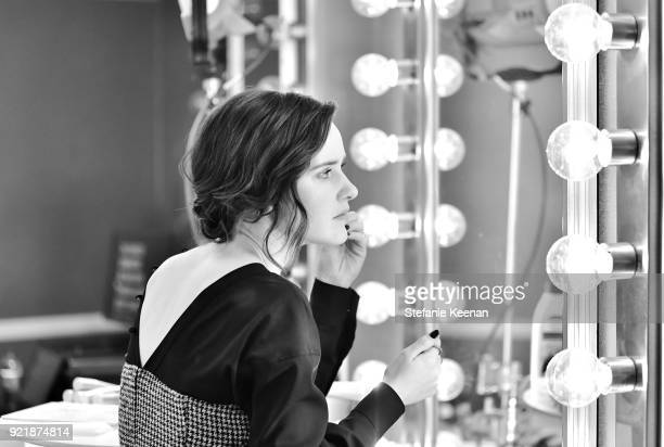 Actor Rachel Brosnahan attends the Costume Designers Guild Awards at The Beverly Hilton Hotel on February 20 2018 in Beverly Hills California