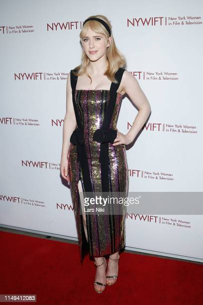 """Actor Rachel Brosnahan attends the New York Women in Film and Television's """"Designing Women Awards"""" at the DGA on June 11, 2019 in New York City."""