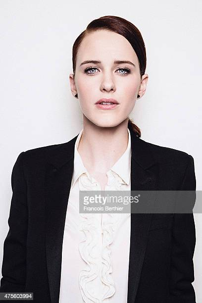 Actor Rachel Brosnahan is photographed on May 18 2015 in Cannes France