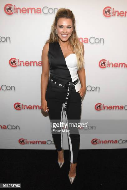 Actor Rachel Platten attends the CinemaCon 2018 Paramount Pictures Presentation Highlighting Its Summer of 2018 and Beyond at The Colosseum at...