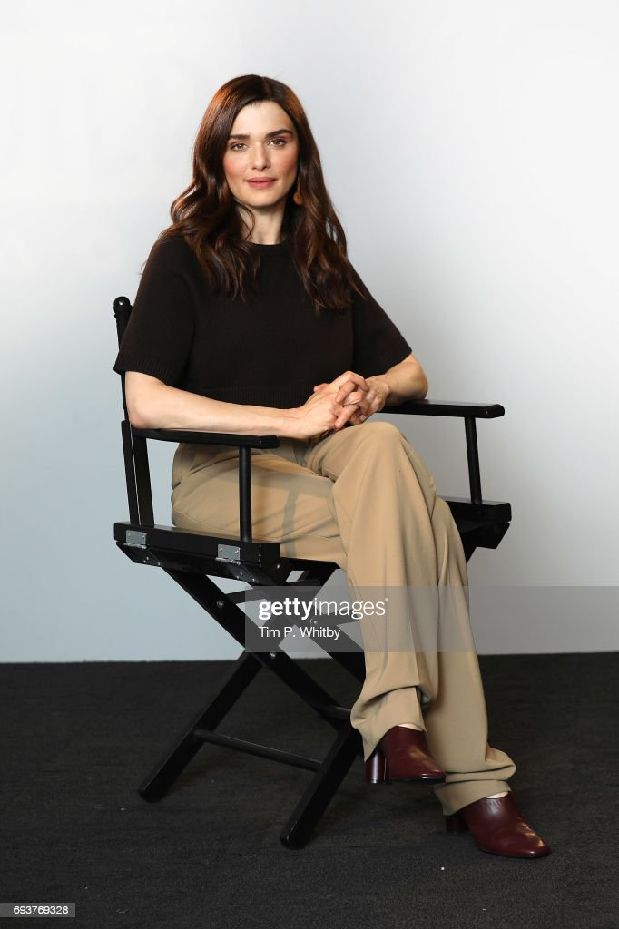 Actor Rachel Weisz from the cast of 'My Cousin Rachel' poses for a photo at the Build LDN event at AOL London on June 8, 2017 in London, England.
