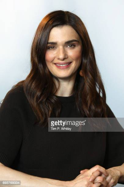 Actor Rachel Weisz from the cast of My Cousin Rachel poses for a photo at the Build LDN event at AOL London on June 8 2017 in London England