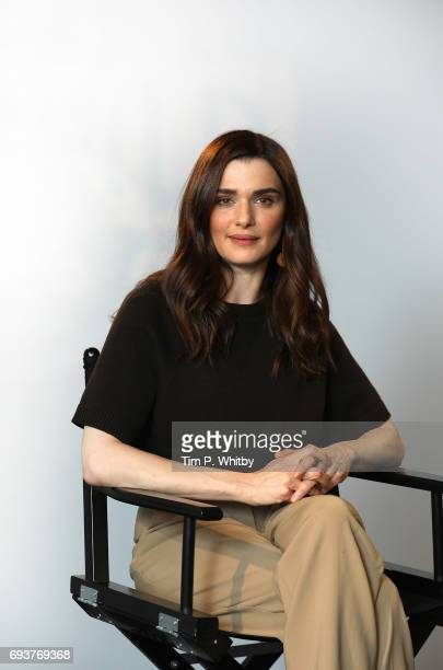 Actor Rachel Weisz from the cast of 'My Cousin Rachel' poses for a photo at the Build LDN event at AOL London on June 8 2017 in London England