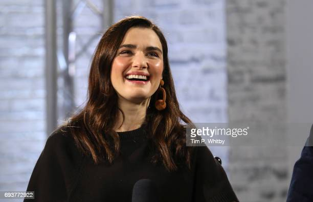 Actor Rachel Weisz from the cast of 'My Cousin Rachel' speaking at the Build LDN event at AOL London on June 8 2017 in London England