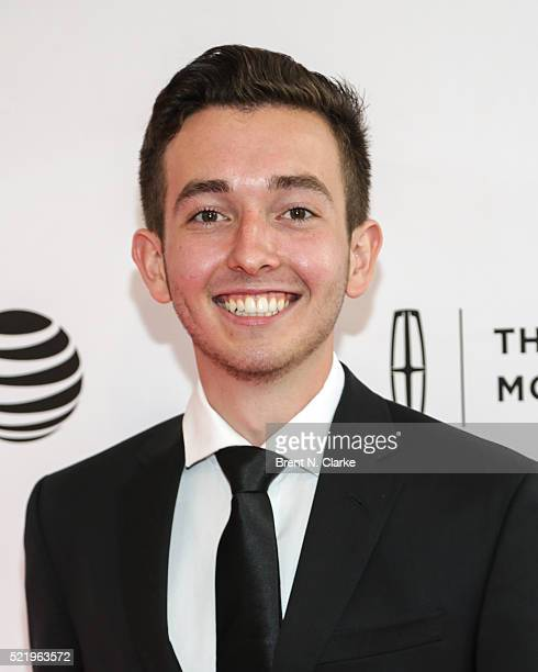 Actor Radek Lord attends the world premiere of 'A Kind of Murder' during the 2016 Tribeca Film Festival held at the SVA Theatre 2 on April 17 2016 in...
