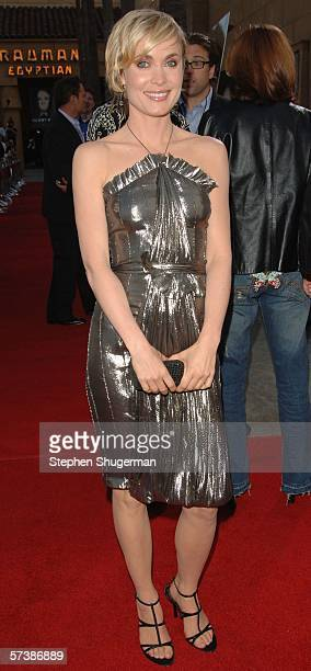 """Actor Radha Mitchell attends the premiere of TriStar Pictures' """"Silent Hill"""" at the Egyptian Theatre on April 20, 2006 in Hollywood, California."""