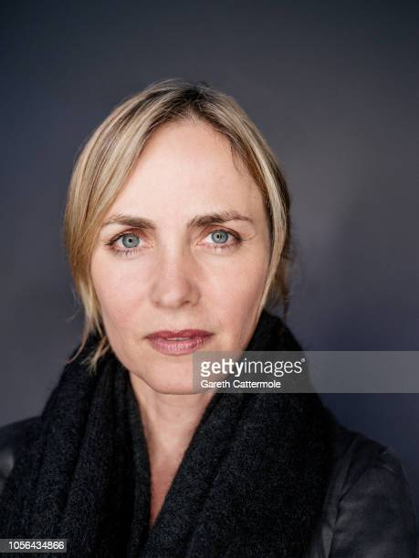 Actor Radha Mitchell is photographed at the BFI London Film Festival on October 18, 2018 in London, England.