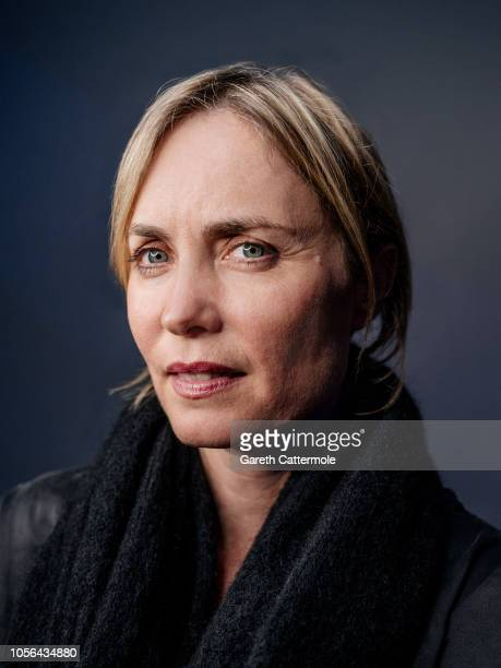 Actor Radha Mitchell is photographed at the BFI London Film Festival on October 18 2018 in London England