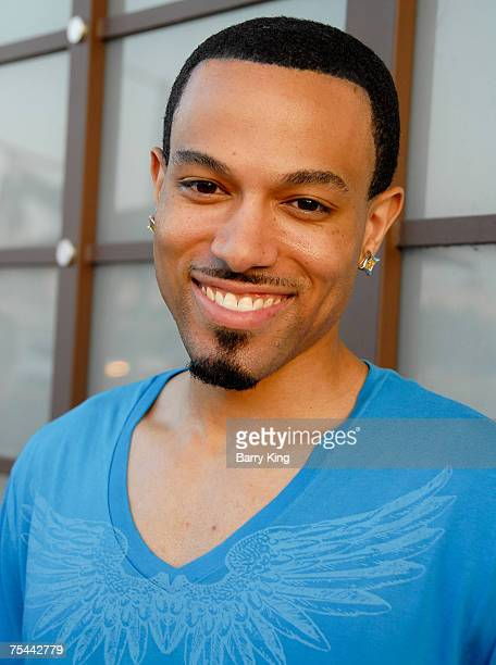 Actor Rafael Amare attends Venice Magazine's party for M'Lisa Alonso held at Celadon Galerie Culinaire on July 16 2007 in Los Angeles California