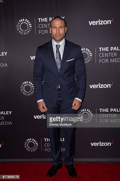 Actor Rafael Amaya arrives at The Paley Center for Media's Hollywood Tribute to Hispanic Achievements in Television event at the Beverly Wilshire...