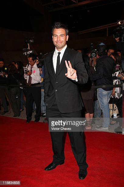 Actor Rafael Amaya attends the 2009 Ariel 51 awards at Auditorio Nacional on March 31 2009 in Mexico City Mexico