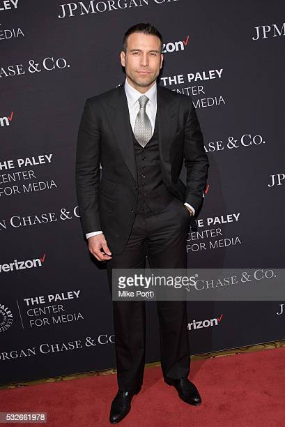 Actor Rafael Amaya attends the 2016 Paley Center for Media's Tribute To Hispanic Achievements In Television at Cipriani Wall Street on May 18 2016 in...