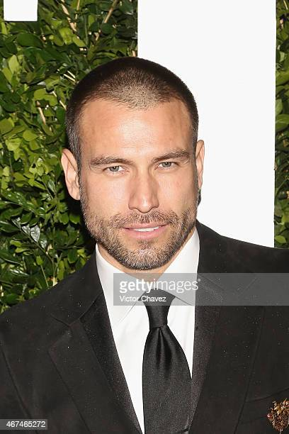 Actor Rafael Amaya attends the Vanity Fair México magazine launch at Casa Del Lago on March 23 2015 in Mexico City Mexico