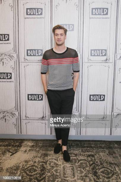 Actress Tatum Marilyn Hall visits BUILD to discuss the movie 'Night Comes On' at Build Studio on July 16 2018 in New York City