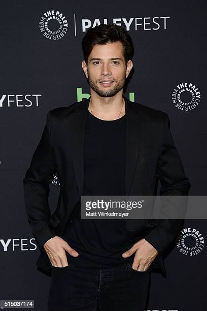 Actor Rafael de La Fuente arrives at The Paley Center For Media's 33rd Annual PALEYFEST Los Angeles Empire at Dolby Theatre on March 11 2016 in...