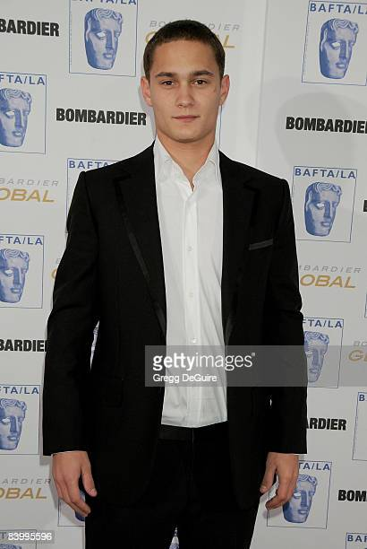 Actor Rafi Gavron arrives at the 17th Annual BAFTA/LA Britannia Awards at the Hyatt Regency Century Plaza Hotel on November 6 2008 in Century City...