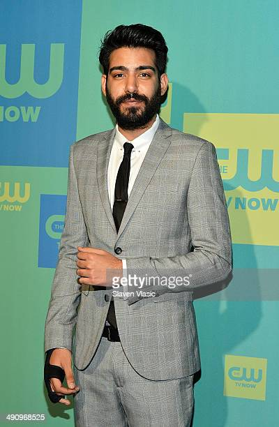 Actor Rahul Kohli attends the CW Network's New York 2014 Upfront Presentation at The London Hotel on May 15 2014 in New York City