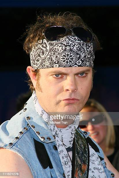 Actor Rainn Wilson arrives at the premiere of The Rocker at the 2008 CineVegas Film Festival opening night at The Palms Resort and Casino on June 12...