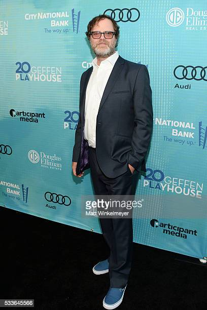 Actor Rainn Wilson attends Backstage at the Geffen at Geffen Playhouse on May 22 2016 in Los Angeles California