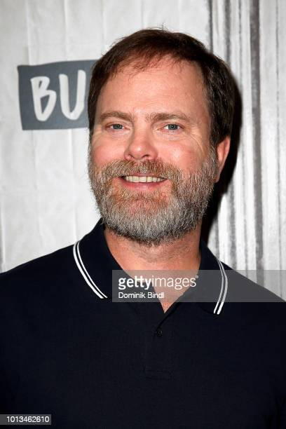Actor Rainn Wilson attends Build Series to discuss the film 'The Meg' at Build Studio on August 8 2018 in New York City